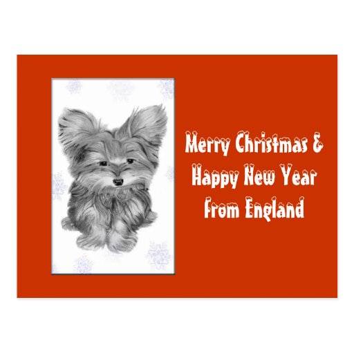 Customisable Christmas Greeting Cards Postcards