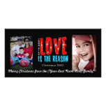 Customisable Christmas/Holiday Photo Greeting Card