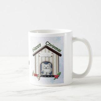 Customisable Christmas Westie Dog Gifts Basic White Mug