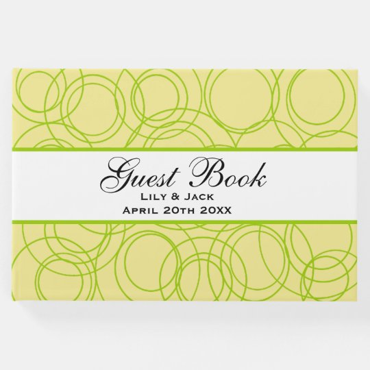 Customisable Circles Guest Book