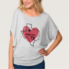 Customisable City, Texas State T-shirt