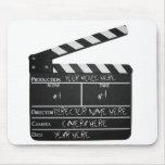 Customisable Clapboard Slate movie filmmaker film Mousepad
