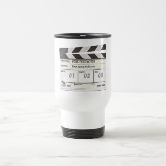 Customisable Clapperboard Location Mug