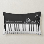 Customisable Classy Piano Pillow