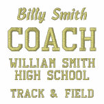 Customisable Coach Fleece Track Jacket