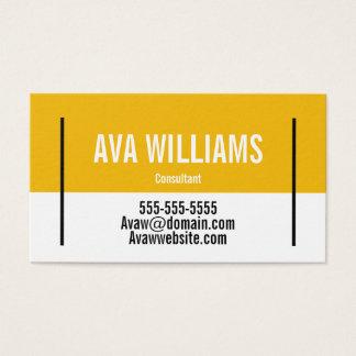 Customisable Colour Block Business Card