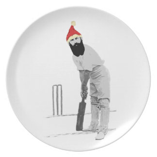 customisable cricket christmas gift ideas party plates