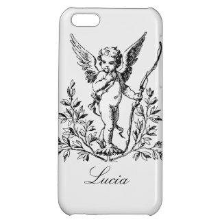 Customisable Cupid Angel Vintage Art Case For iPhone 5C