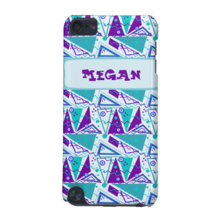 Customisable Cyan Party Pattern iPod Touch 5G Case