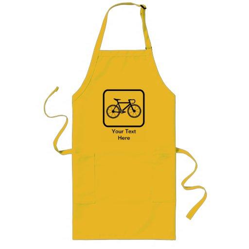 Customisable Cyclist Logo Apron