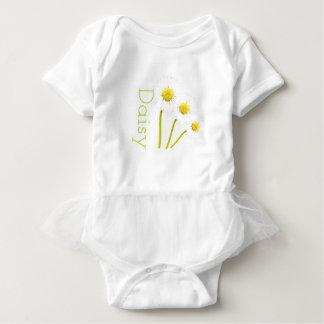 Customisable Daisy Tutu-Vest Baby Bodysuit