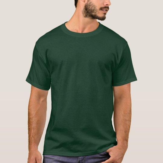 Customisable Dark Forest Green 6X T-Shirt