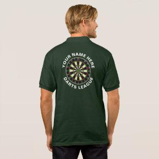 Customisable Darts League Polo/T-Shirt Polo Shirt