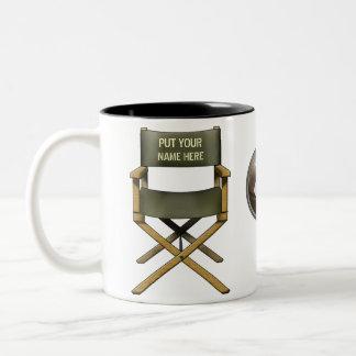 Customisable director s chair mug