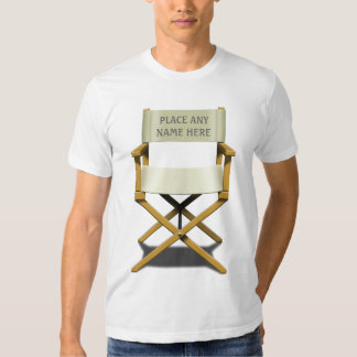 Customisable Director's Chair design Shirts
