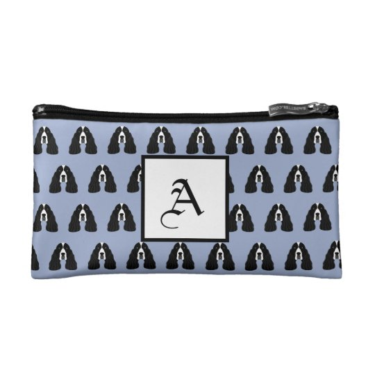 Customisable English Springer Spaniel Cosmetic Bag