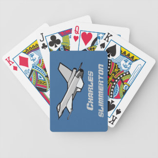 Customisable F16 Fighting Falcon Design Deck Of Cards