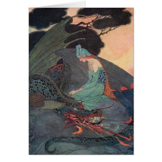 customisable faerie notecard, Elenore Abbott art Card