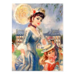 Customisable Fine Art Mother's Day Postcards