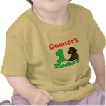 Customisable First Birthday Boy Puppy Shirt