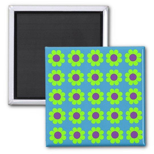 Customisable Flower Power Magnet