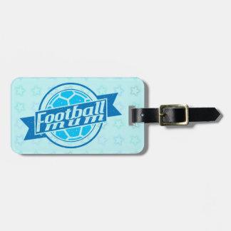 Customisable Football Mum Luggage Tag, Soccer Luggage Tags