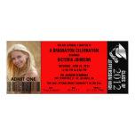 Customisable Graduation Admission Ticket Invite