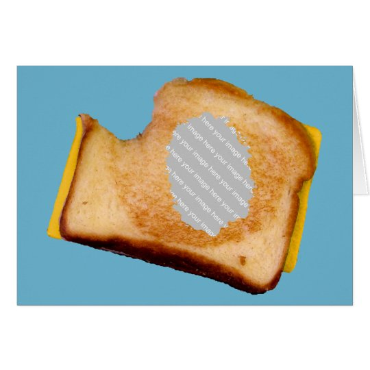 Customisable Grilled Cheese Sandwich Card