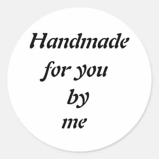Customisable Handmade Transparent Sticker