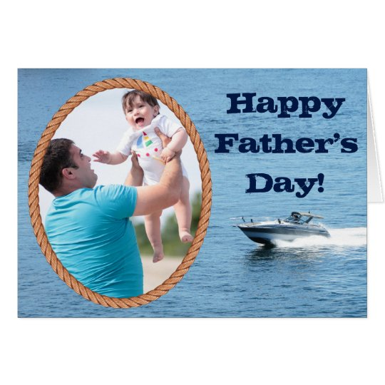 Customisable Happy Father's Day Add Your Own Image