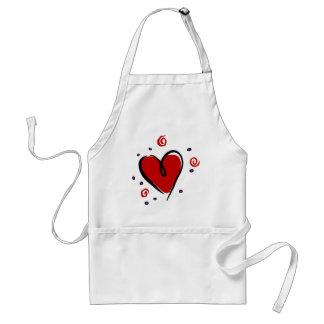 Customisable Heart 1 Standard Apron