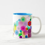 Customisable: Hexagonal Two-Tone Mug