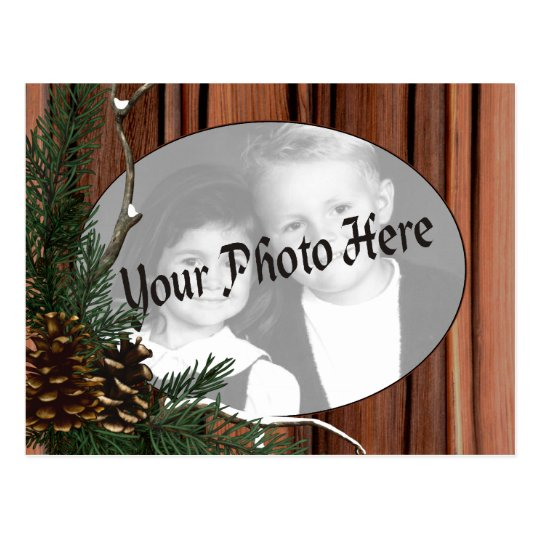 Customisable Holiday Photo Postcards