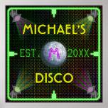 Customisable Home Bar 1970's Disco Ball