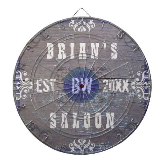 Customisable Home Bar Beer Saloon Dartboard With Darts