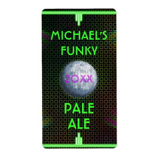 Customisable Home Beer Brewer 70's Disco Ball Shipping