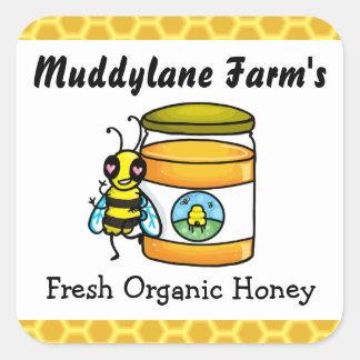 Customisable Honey jar Sticker