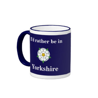 Customisable I d rather be in Yorkshire mug