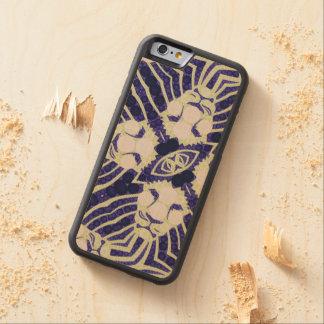 Customisable Iphone6 Wood Case Maple iPhone 6 Bumper Case