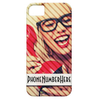 Customisable iPhone 5/5s Phone Number Case iPhone 5 Cases