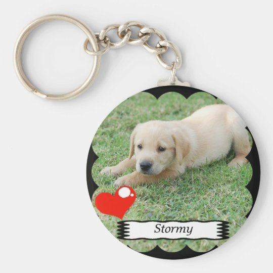 Customisable keychain with your own image
