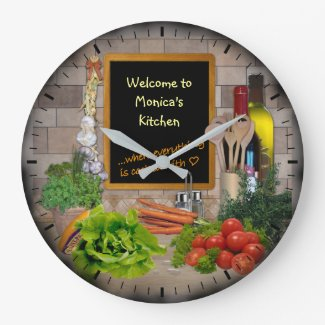 (Customisable) Kitchen Clock