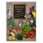 Customisable Kitchen Notebook
