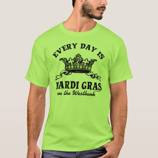 Customisable Mardi Gras T-Shirt