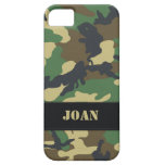 Customisable Military Camo iPhone 5 Case