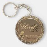 Customisable Mother Of The Groom Keepsake Keychain