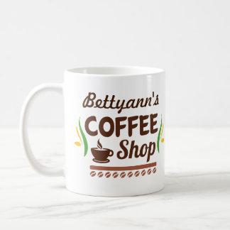 Customisable Name Coffee Shop Coffee Mug