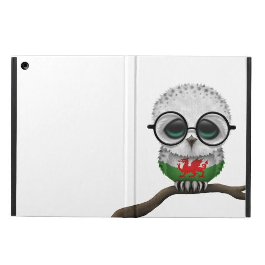 Customisable Nerdy Welsh Baby Owl Chic Cover For