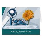 Customisable Nurses Day Greeting Card