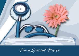 National nurses day cards zazzle uk customisable nurses day greeting cards m4hsunfo